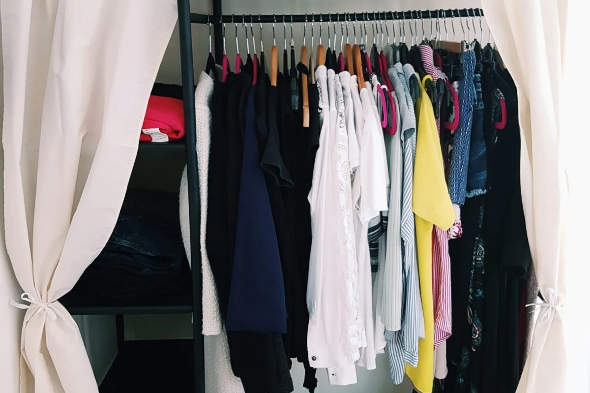 A look inside my wardrobe