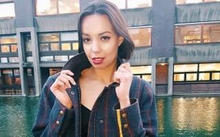 self-love advice girl outside wearing jacket