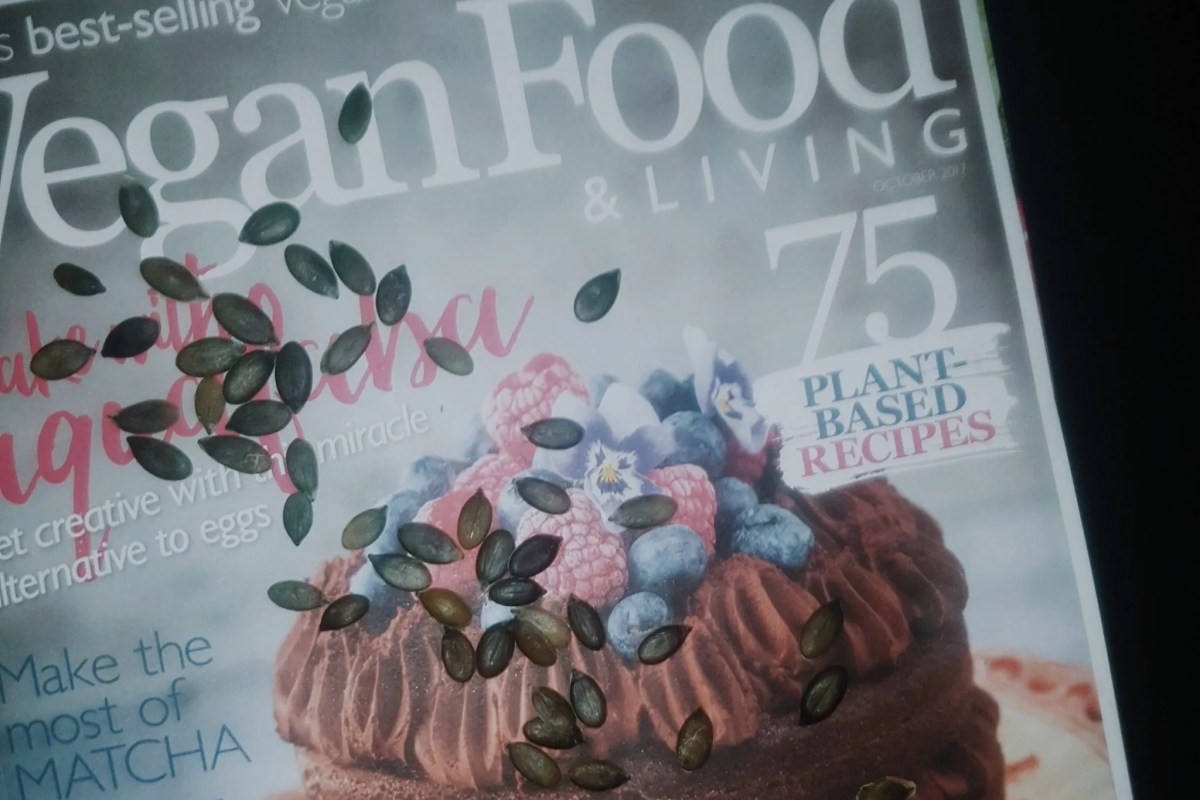 Vegan diet magazine