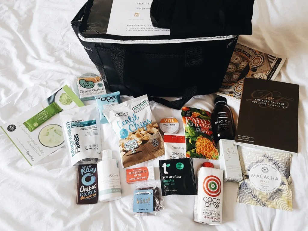 Wellness Awards Goody Bag: Favourite Products