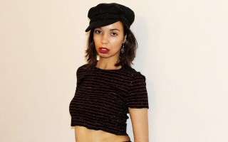 Intimidating people - crop top and hat - The Style of Laura Jane