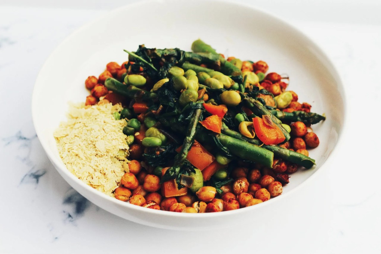 facial at Harley Street - The Style of Laura Jane - Plant based bowl