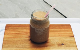 detox results - chocolate smoothie - The Style of Laura Jane