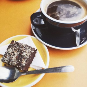 Instagram stalking - black Americano and vegan brownie - The Style of Laura Jane - women's lifestyle blogger in United Kingdom