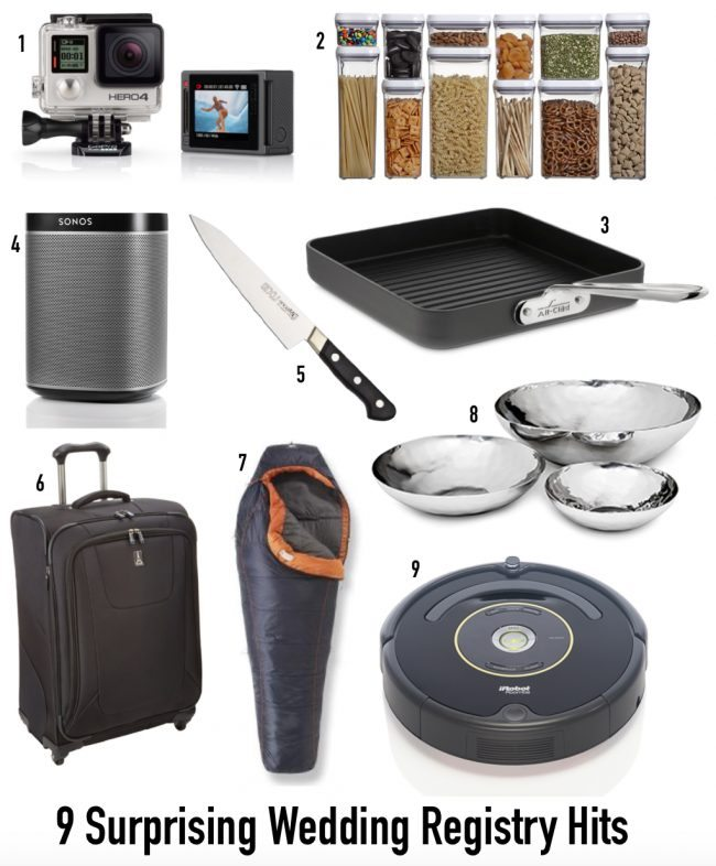( things you must register for, wedding registry must haves