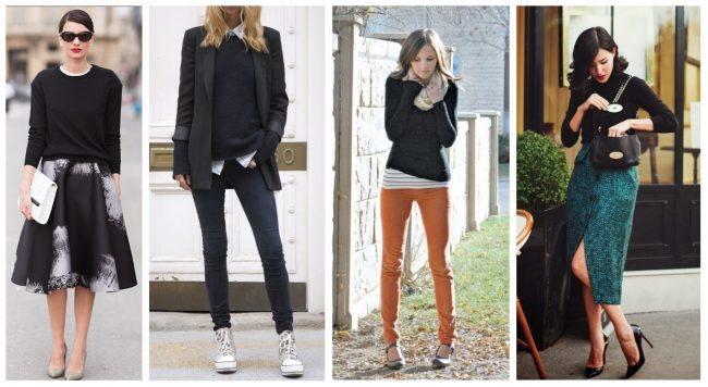 how to wear a black cashmere sweater, closet essentials // thestylesafari.com