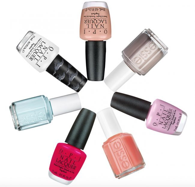 7 summer nail polish colors for pale hands // theStylesafari.com