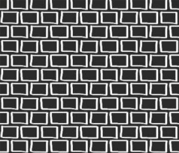 hand drawn rectangle print fabric // thestylesafari.com