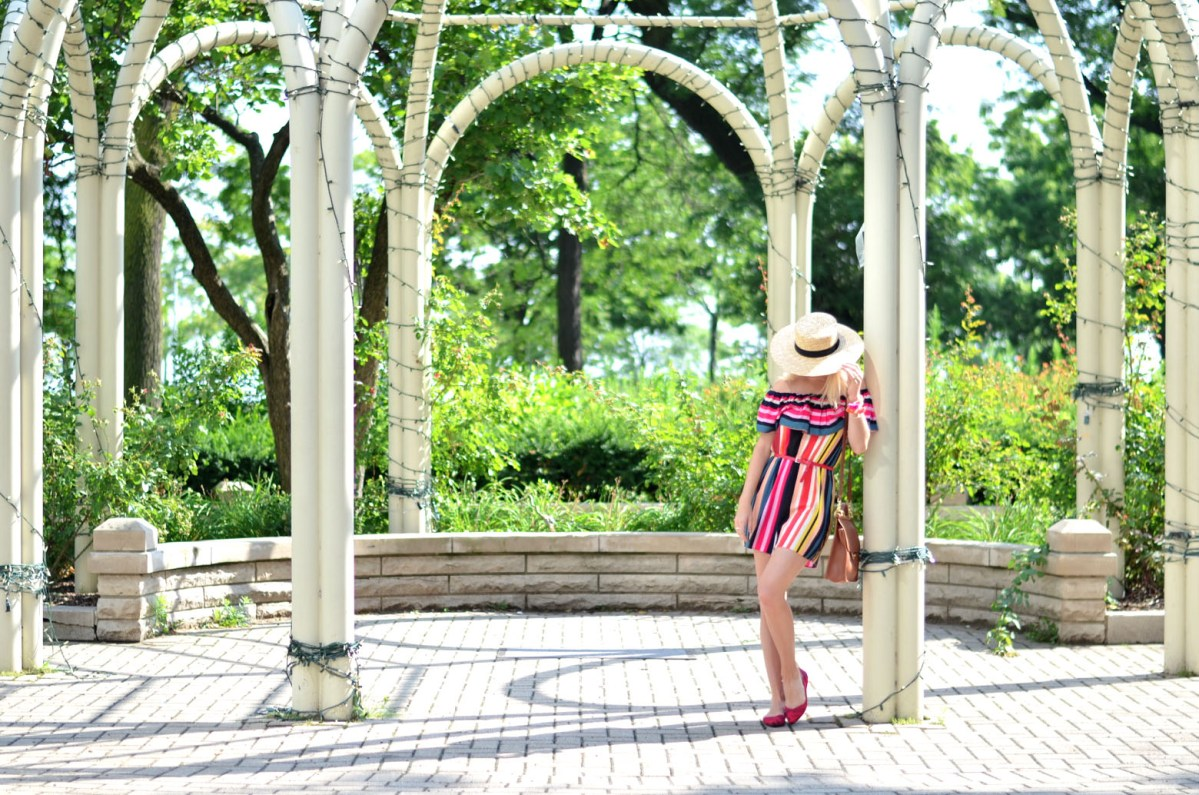 Exploring Chicago in Rothy's Seamless Knit Flats