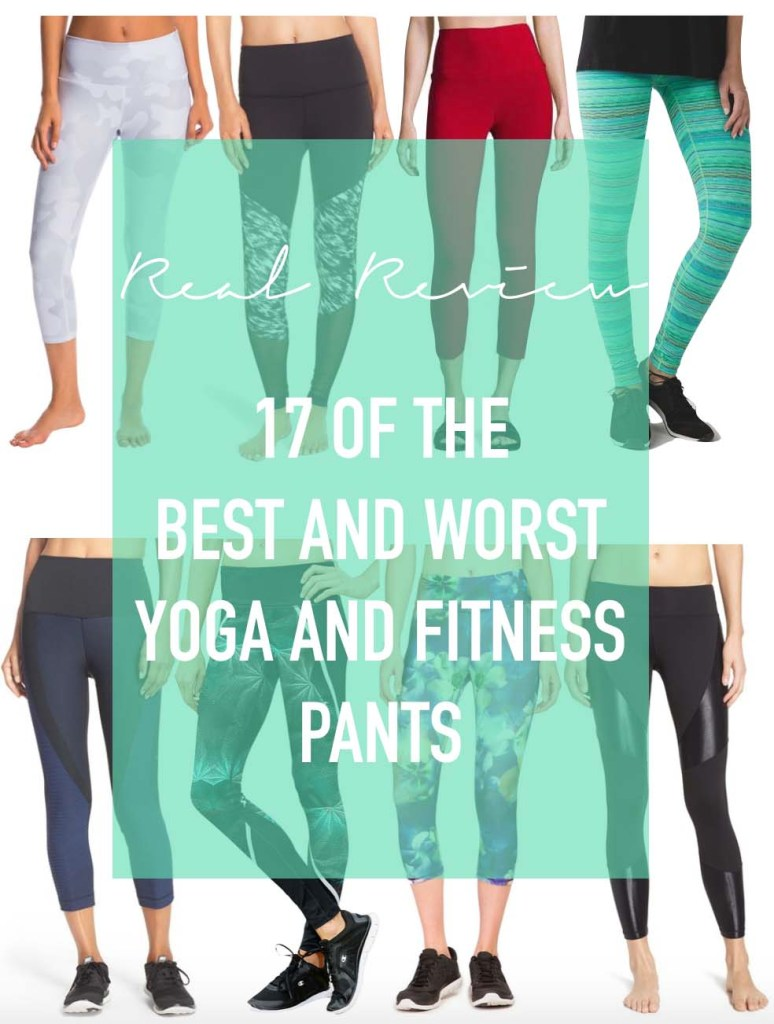 17 of the Best and Worst Yoga and Fitness Pants