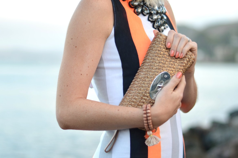Stefanie of the Style Safari wears Soulstice Spa 5-Free Marin County Nailpolishes