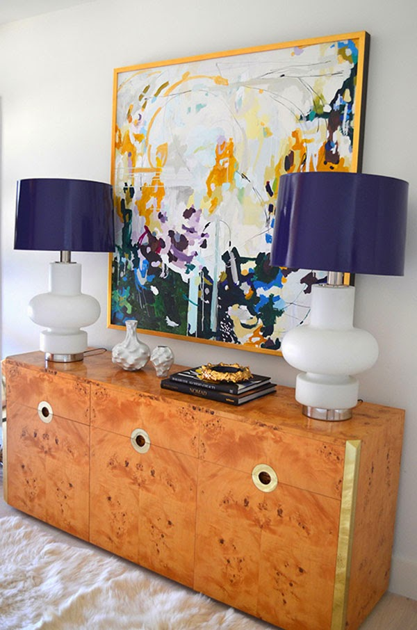 mid century mod, antique chic living room vignette. Get the look from Bidsquare Auctions