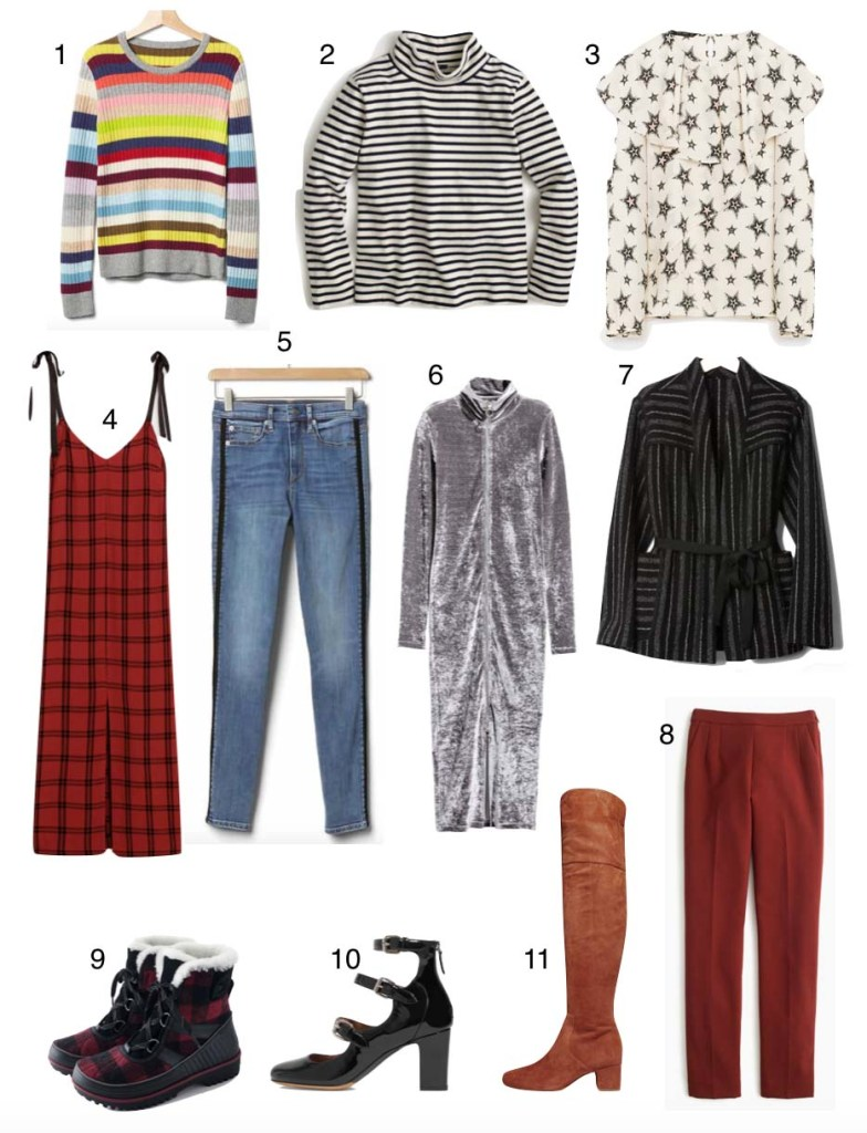 Packing tips- how to pack 8 pieces for 12 looks for a winter getaway