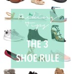 packing tips, the 3 shoe rule, how to pack light, travel light, carry on travel, travel style // thestylesafari.com