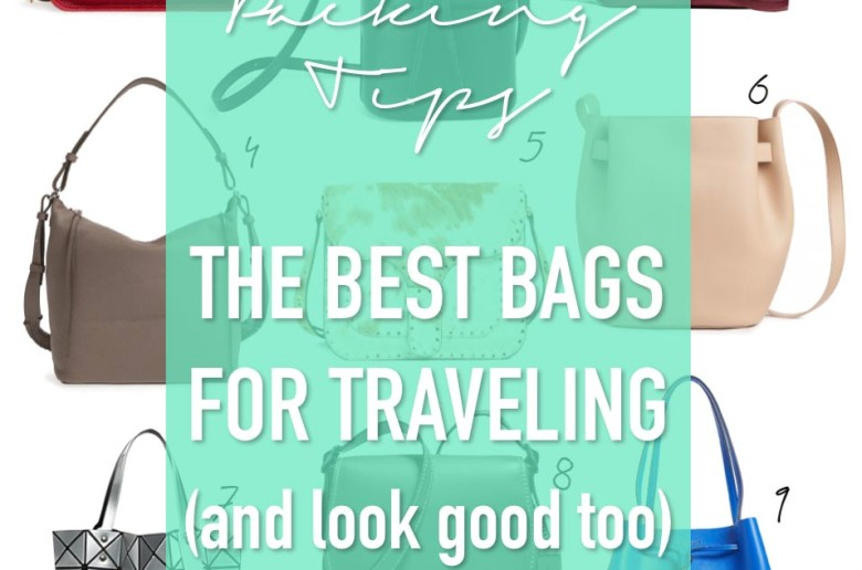 the best bags for traveling