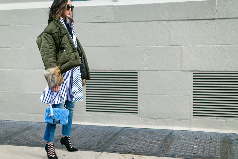 best street style fashion looks of NYFW , Fall 2017 shows, favorite street style looks