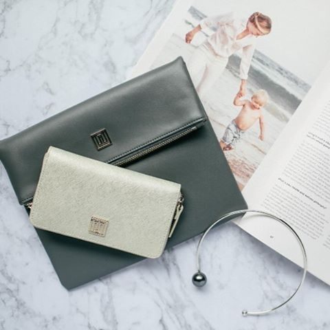 The Style Trust_Nikki Williams Leather Bags_ Caviette Clutch and Bellini wallet