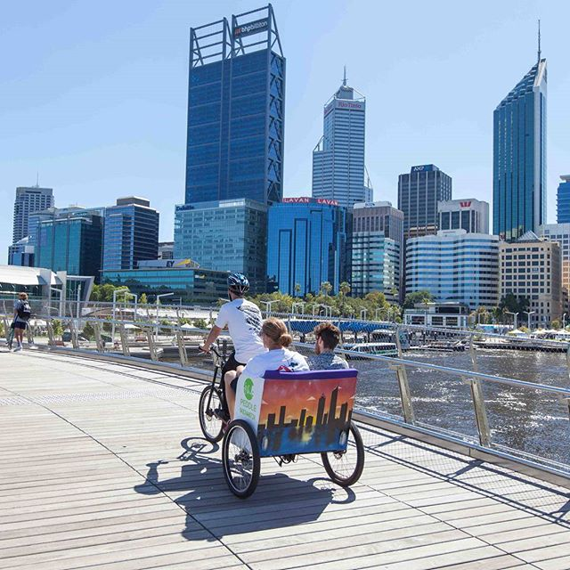The Style trust_Winter School Holiday Activities Perth City_Perth Rickshaws Peddle Perth
