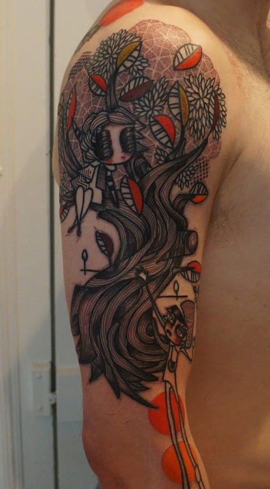 34-cartoon-arm-tattoo