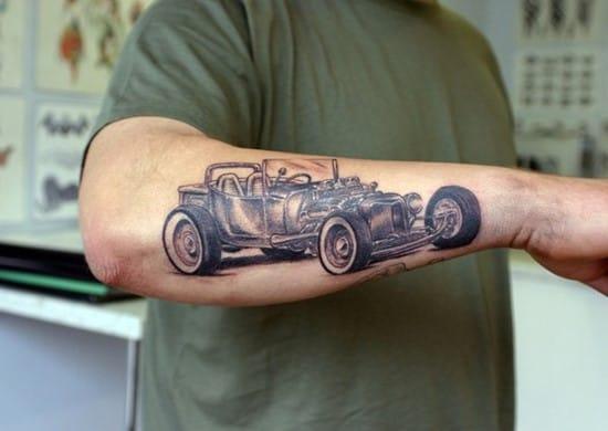 9-T-Ford-arm-tattoo