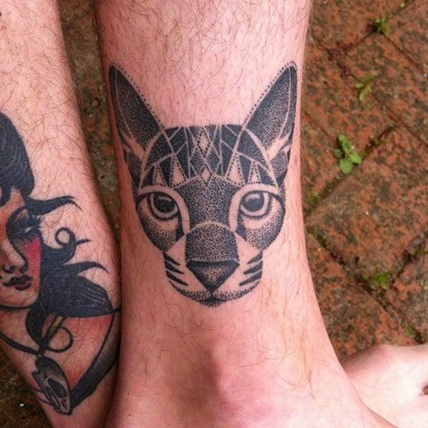 AD-Minimalistic-Cat-Tattoos-30