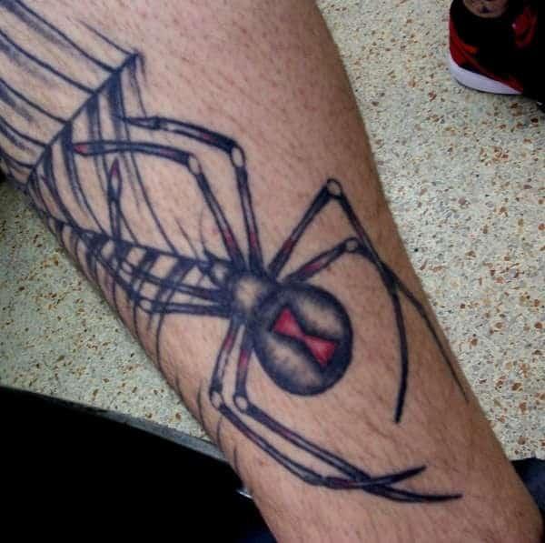 catchy-spider-tattoo