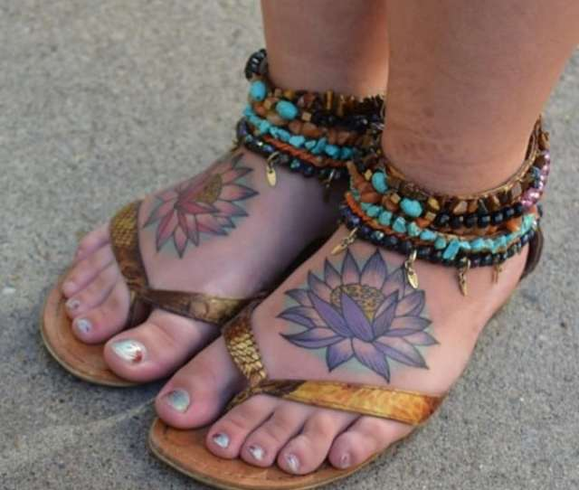 Foot Tattoo  X