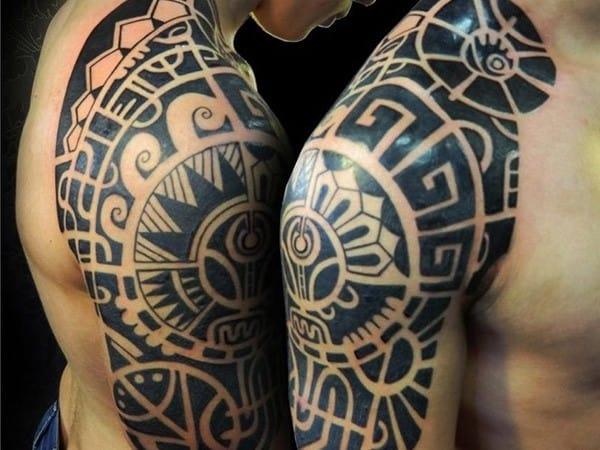 polynesian-styled-half-sleeve