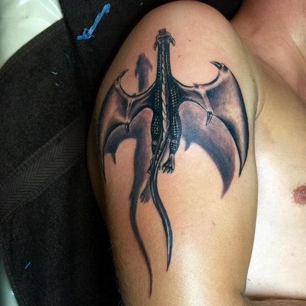 Horrifying 3D Tattoo