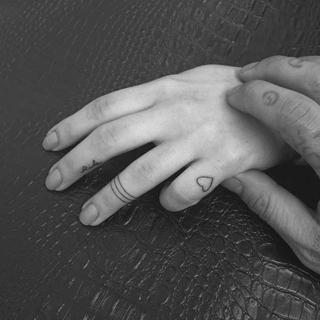 Small Finger Tattoos