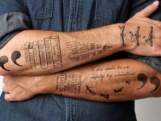 forearm tattoo