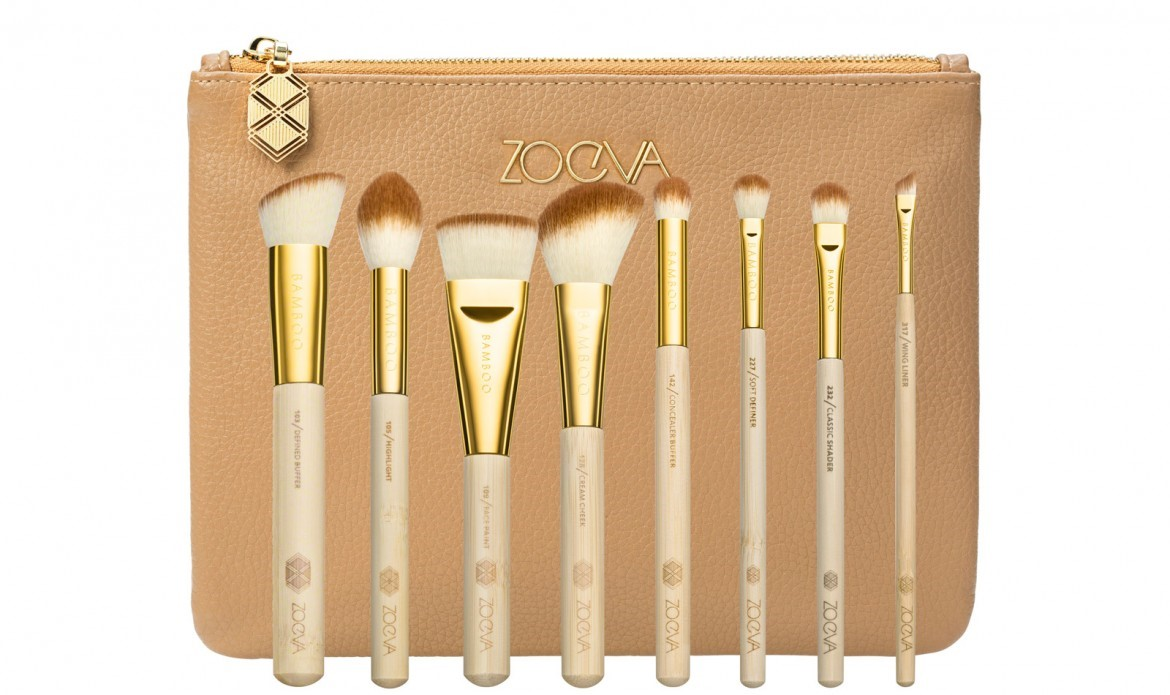 Zoeva travel makeup brushes