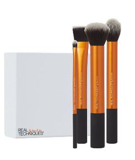 Real Techniques Flawless Base travel makeup brushes