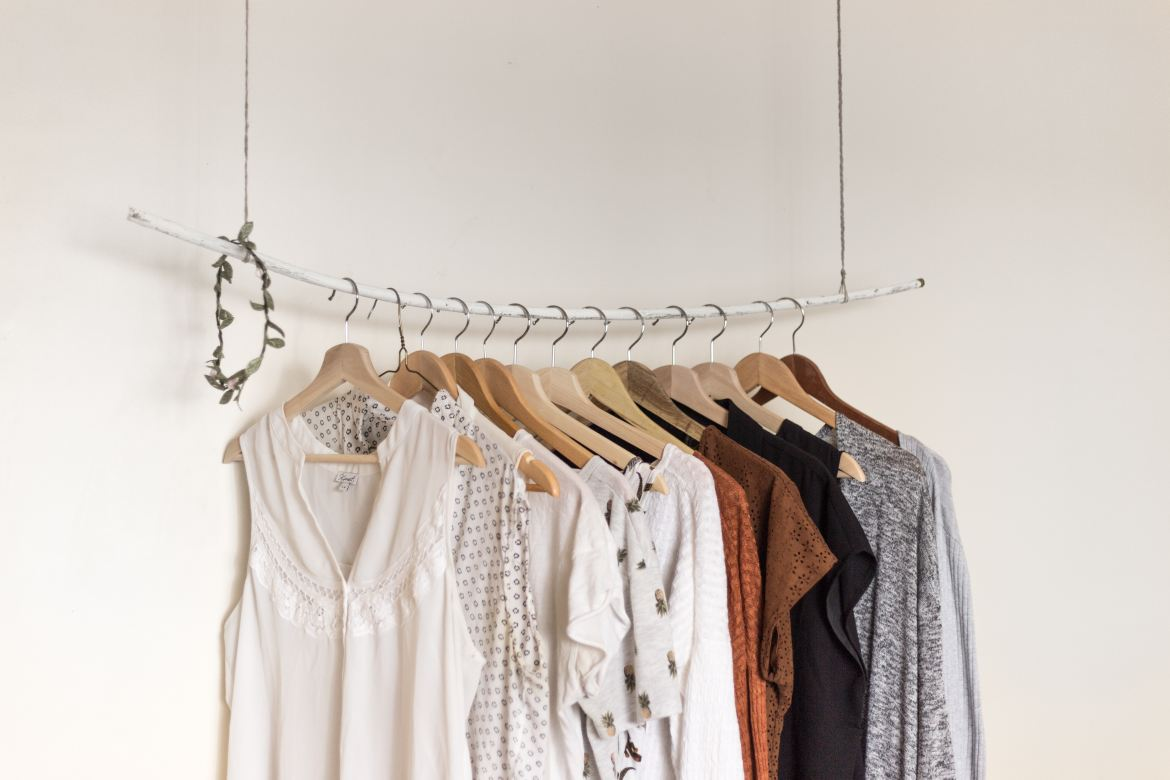 4 Reasons to Shop Ethical Fashion - clothing hanging