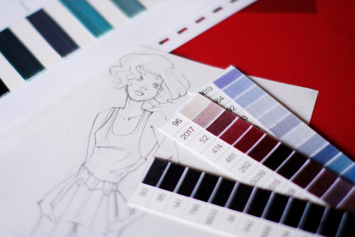 Kasey Ma of The StyleWright Blog How to Become a Fashion Designer Fashion Drawing with Color Options