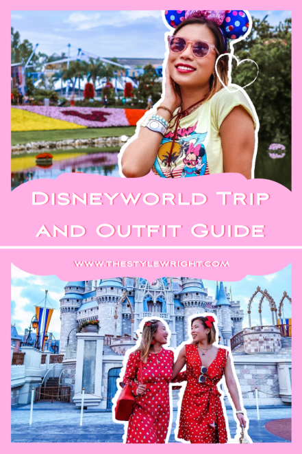 Kasey Ma of The StyleWright Disney World Trip and Outfit Guide Pinterest Graphic