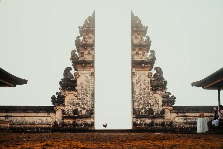 Temple of Lempuyang in Bali Indonesia