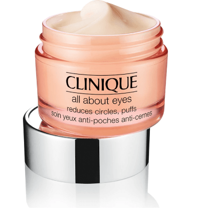 clinique all about eyes eye cream anti-puffing