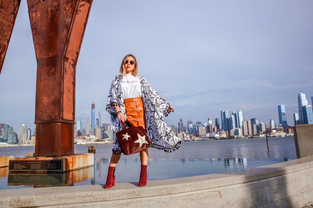 Kasey Ma of The StyleWright rocking her Fashion Palette look at New York Fashion Week