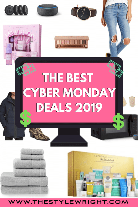 Cyber Monday Pinterest Graphic
