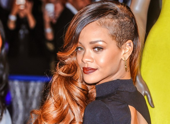 rihanna with an undercut hairstyles 2020