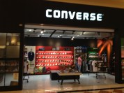 Stores, took a picture of this for a friend who is a huge Converse fan.
