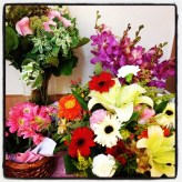 Flowers from well wishers...