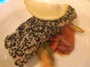 Fascinating salmon dish