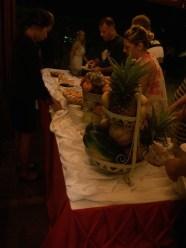 Dessert buffet, I loved the grapes.