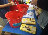 Exhibition Action day- selling fundraising objects...