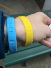 A few bracelets bought and then given away