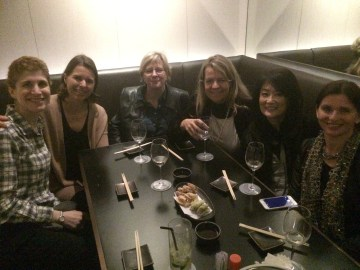 Special birthday dinner for Lenore Look, lovely friends all together, fun time!