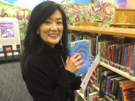 Lenore found Grace Lin's book!
