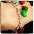 Special present from special friend, looking forward to sharing books wearing this bracelet!